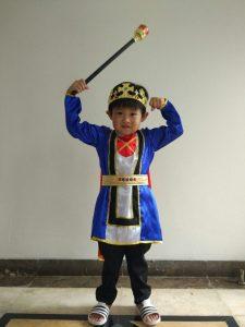 kostum raja anak-anak