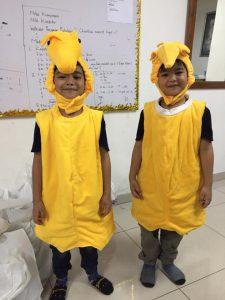 Kostum Binatang Kuda Laut